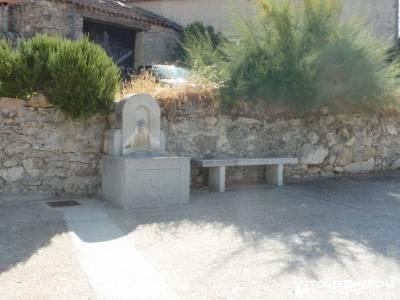 Cañones del Río Cega y  Santa Águeda  – Pedraza;embalse de pinilla solana de avila